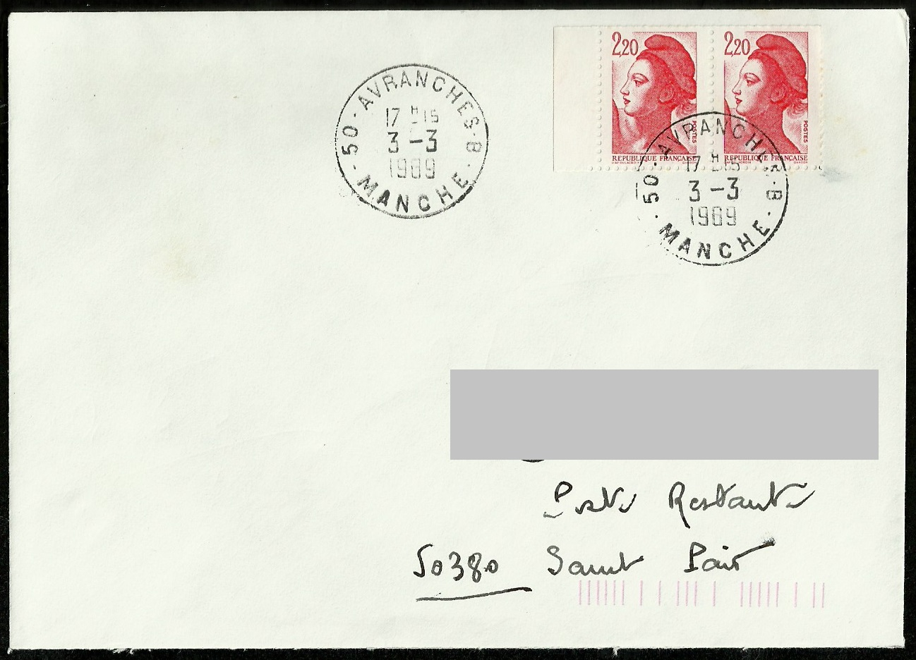 courrier en poste restante