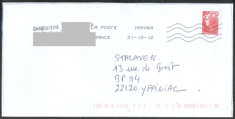 lettre la poste 1.6.6. Les faux pour tromper la Poste lettre la poste