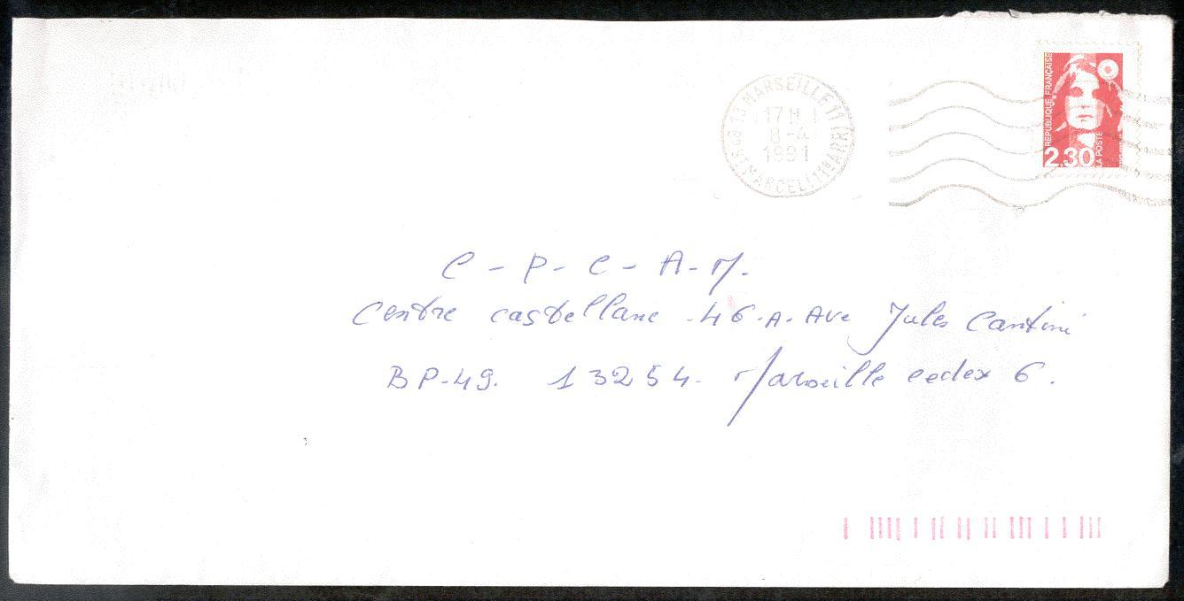 lettre postale 1.6.6. Les faux pour tromper la Poste lettre postale